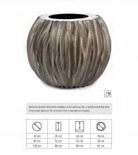 Snake Bowl, Χειροποίητη γλάστρα με επίστρωση από δέρμα φιδιού