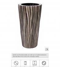Snake Vase, Χειροποίητη γλάστρα με επίστρωση από δέρμα φιδιού